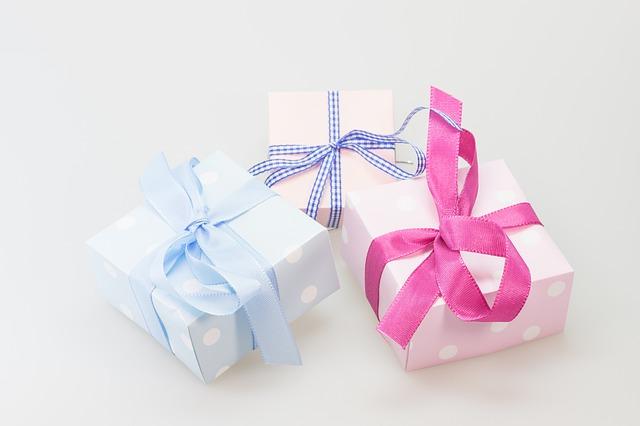 dárečky s mašlí
