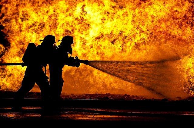 hasiči v akci