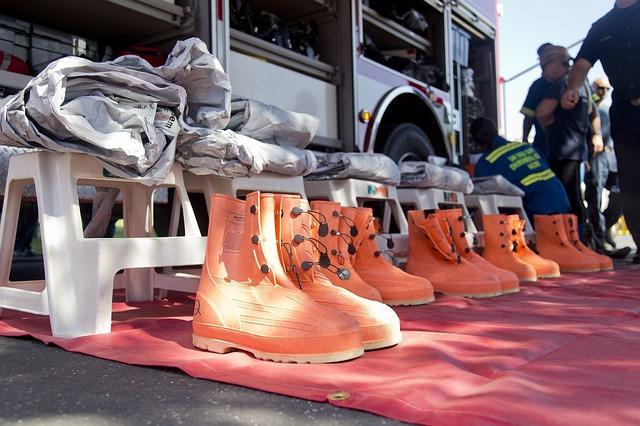hasičský úbor