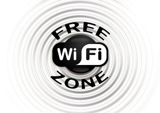 zóna volné wifi