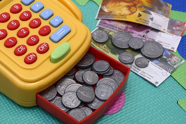 dětské peníze