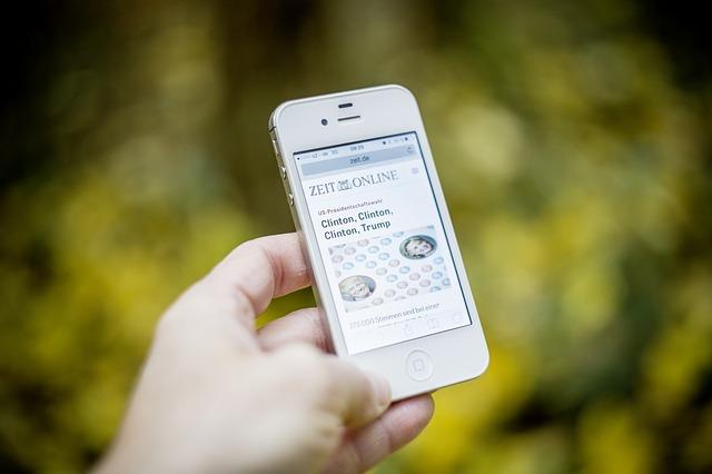 Mobilní telefon s novinkami