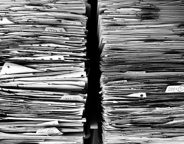 stohy dokumentů