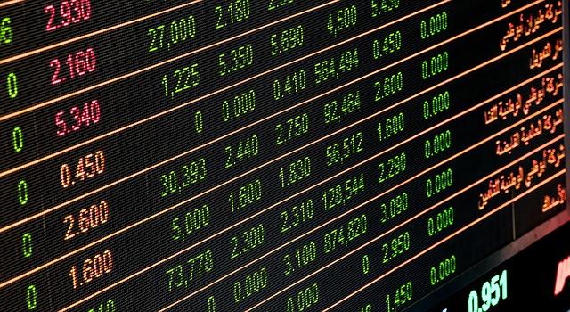 Finanční informační tabule